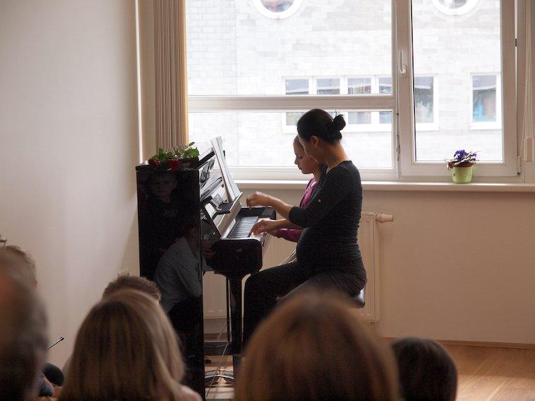 Klavierstück zu 4 Händen