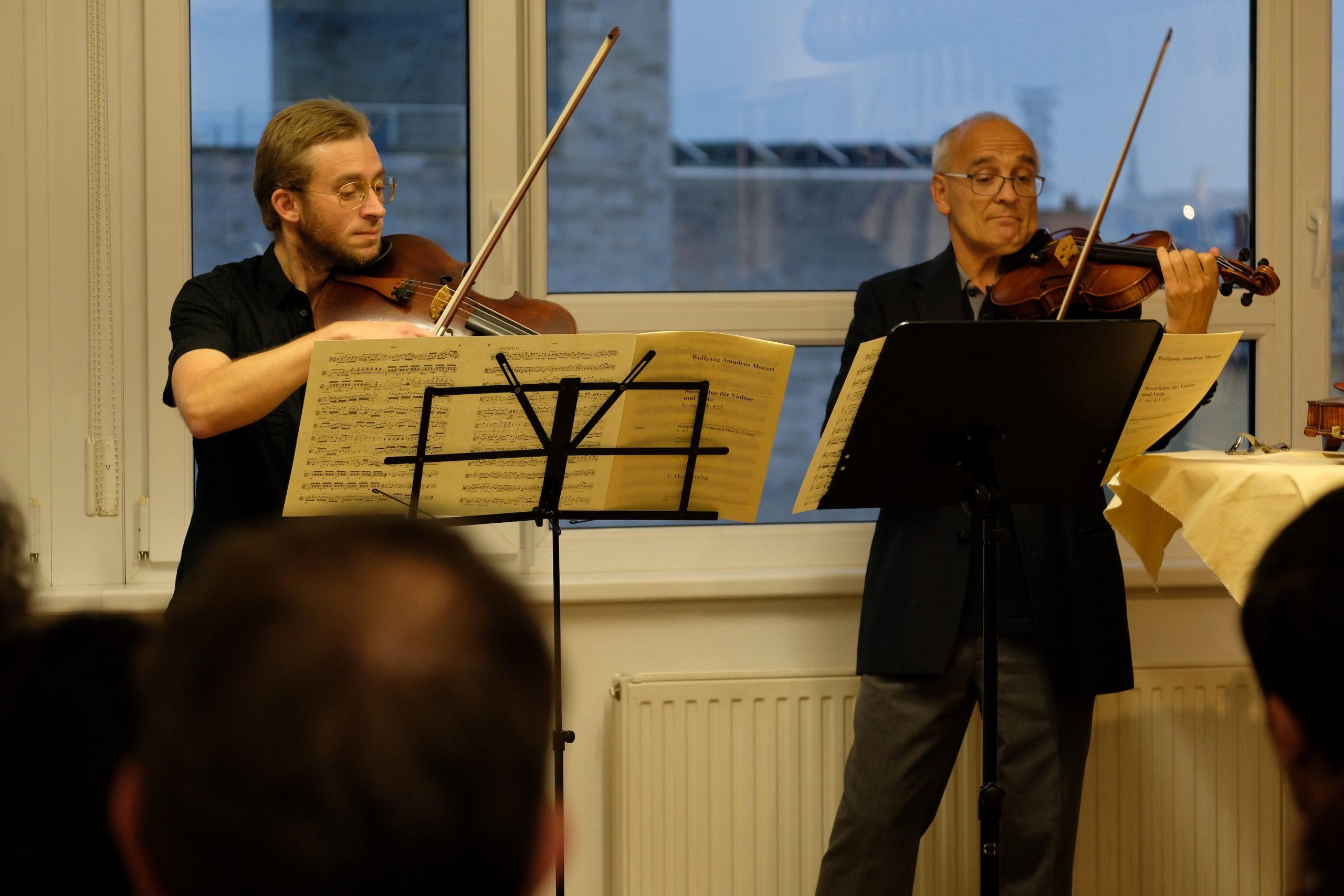 Rainer Gutternigg und Johannes Sonnberger