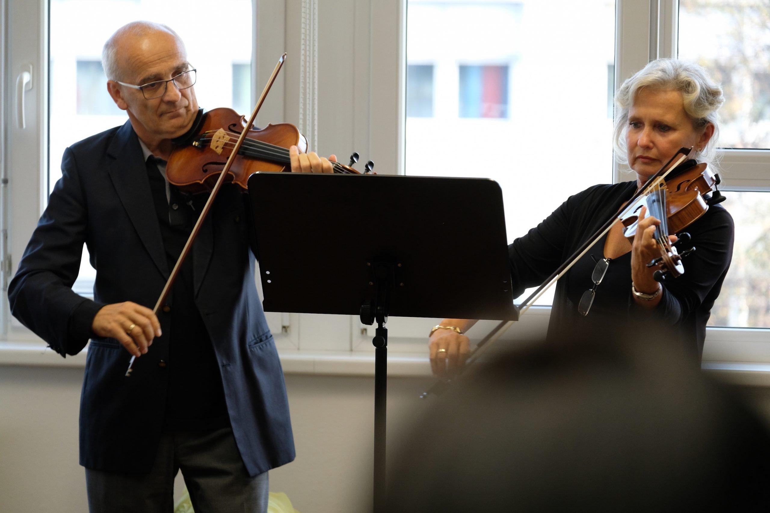 Astrid Resch und Johannes Sonnberger