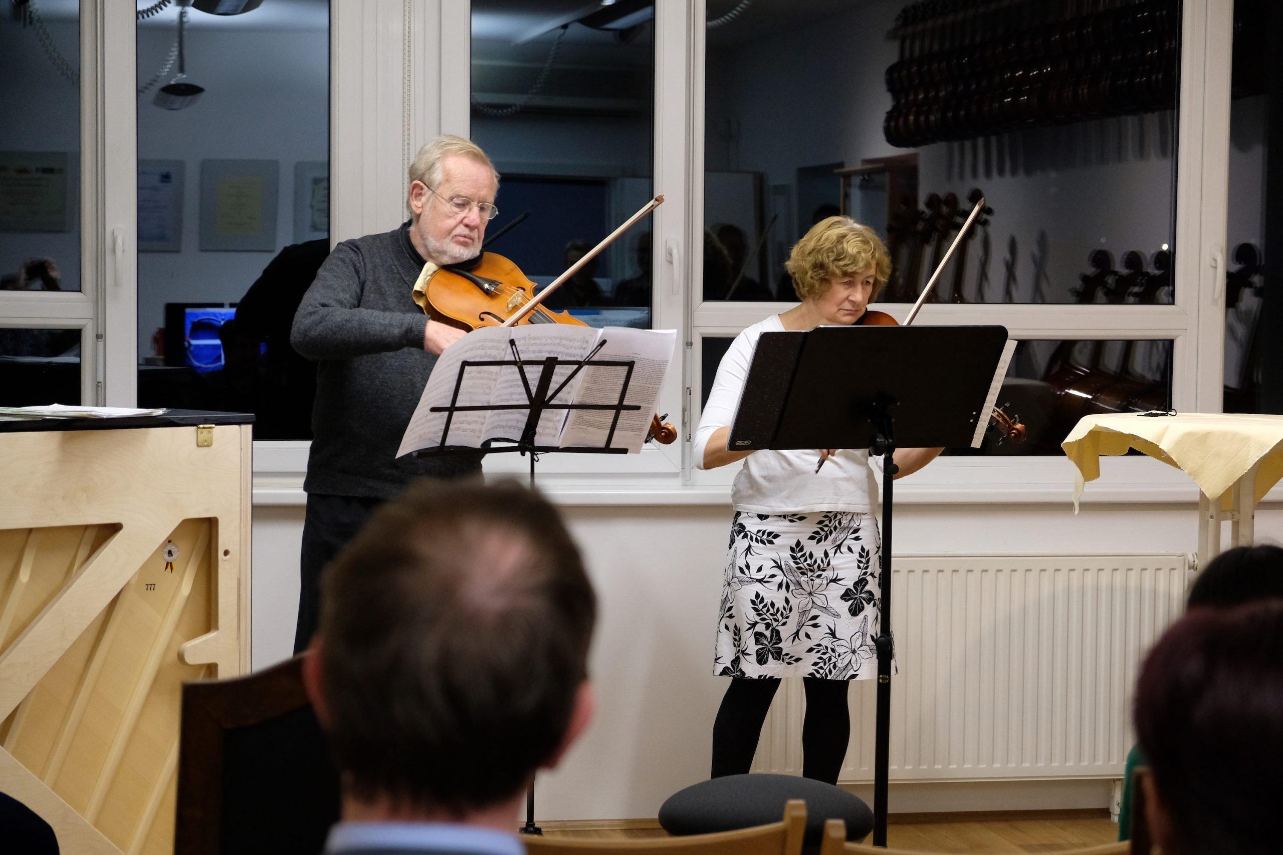 Irmgard und Wolfgang Seidl