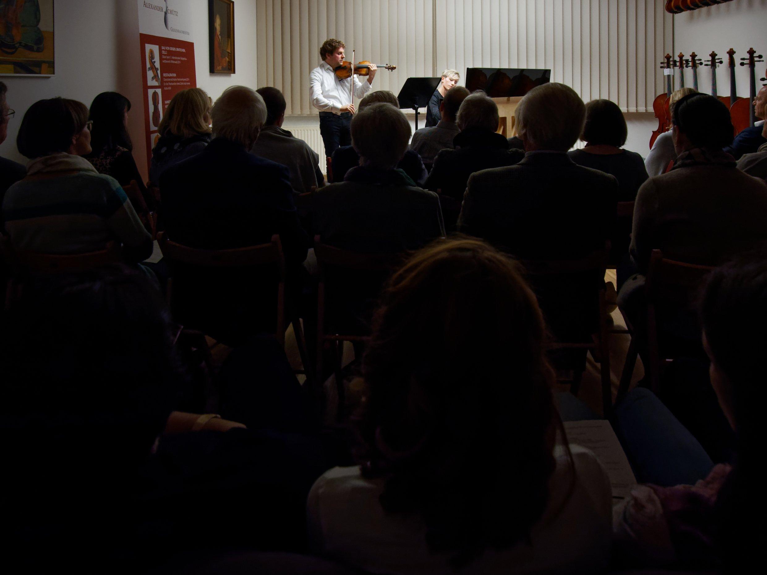 Konzert mit Bernadette Bartos-Herzer und Josef Herzer