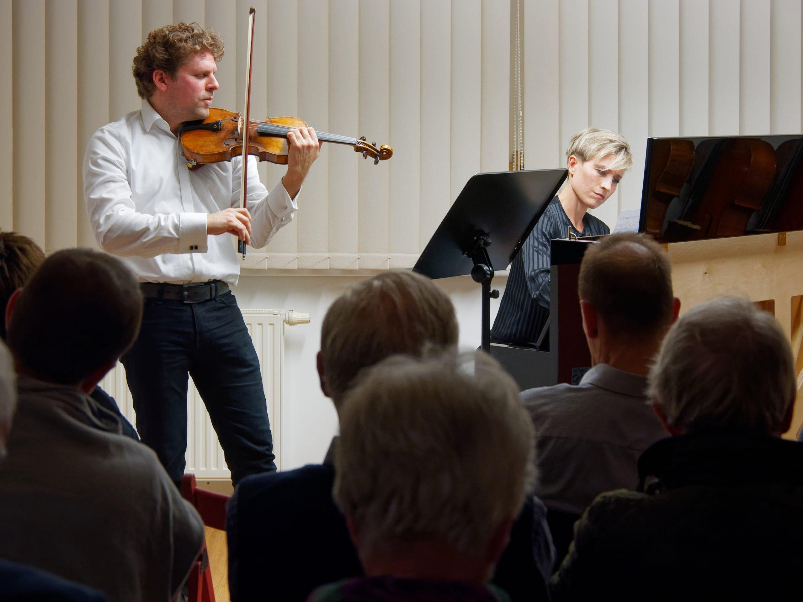 Werkstattkonzert mit Bernadette Bartos-Herzer und Josef Herzer