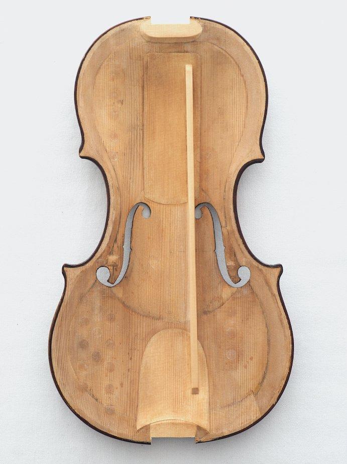 Restauration einer Violine von Don Nicola Amati