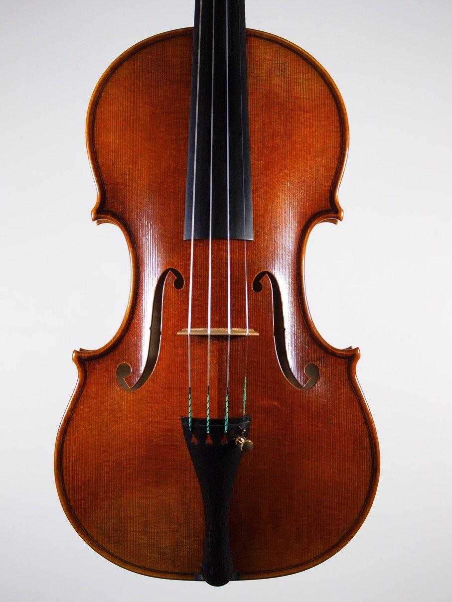 Violin based on the model of the 'Cannon' Guarneri del Gesu anno 1743