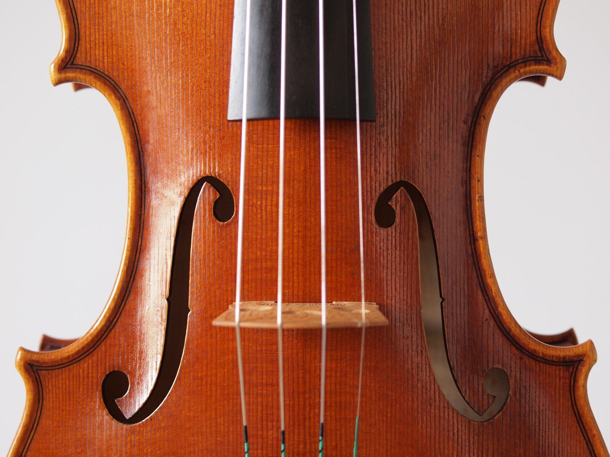 """Violine Modell Guarneri del Gesu """"Kanone"""" anno 1743 II"""