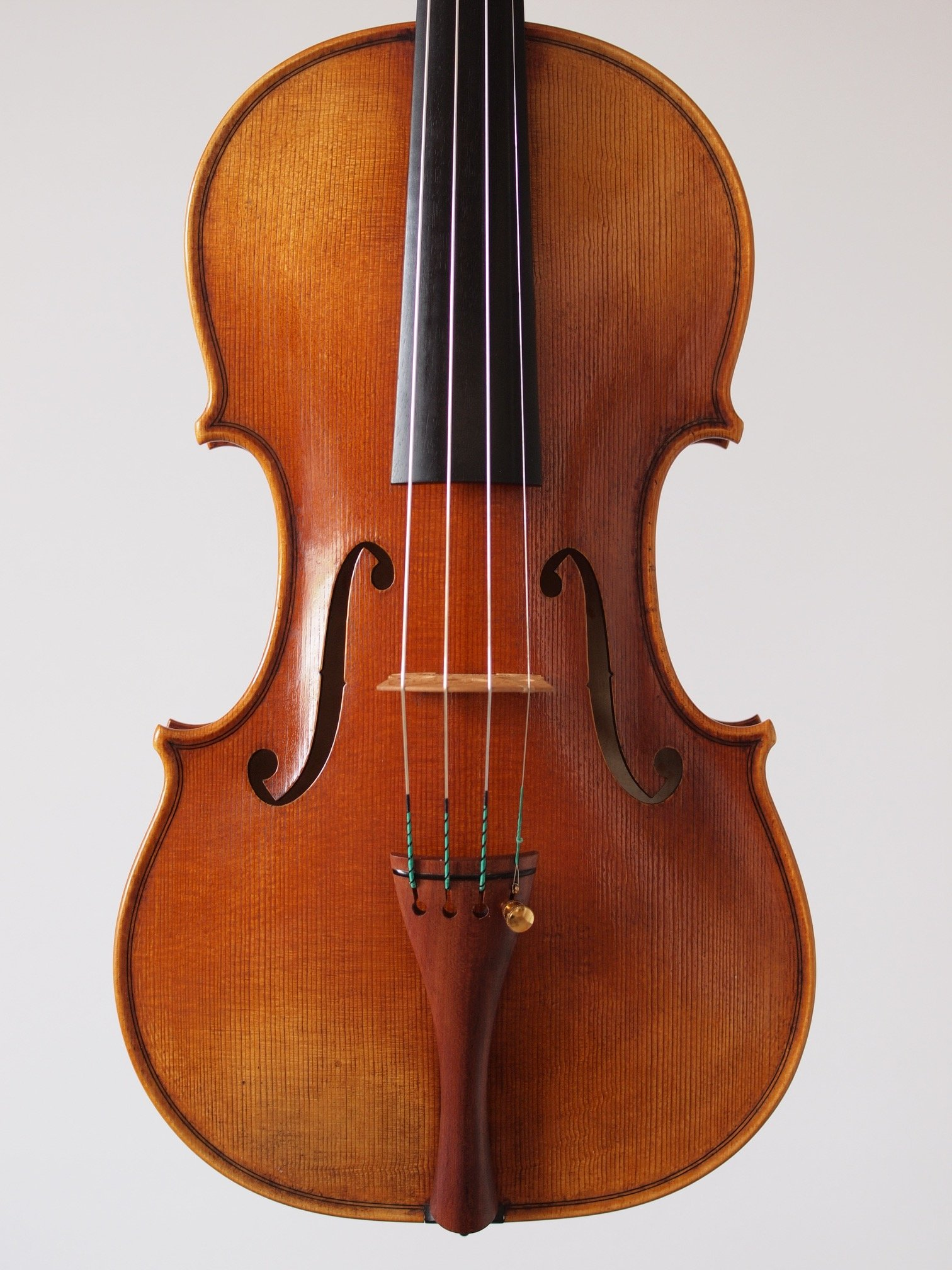 Violin based on the model of the 'Cannon' Guarneri del Gesu anno 1743 II