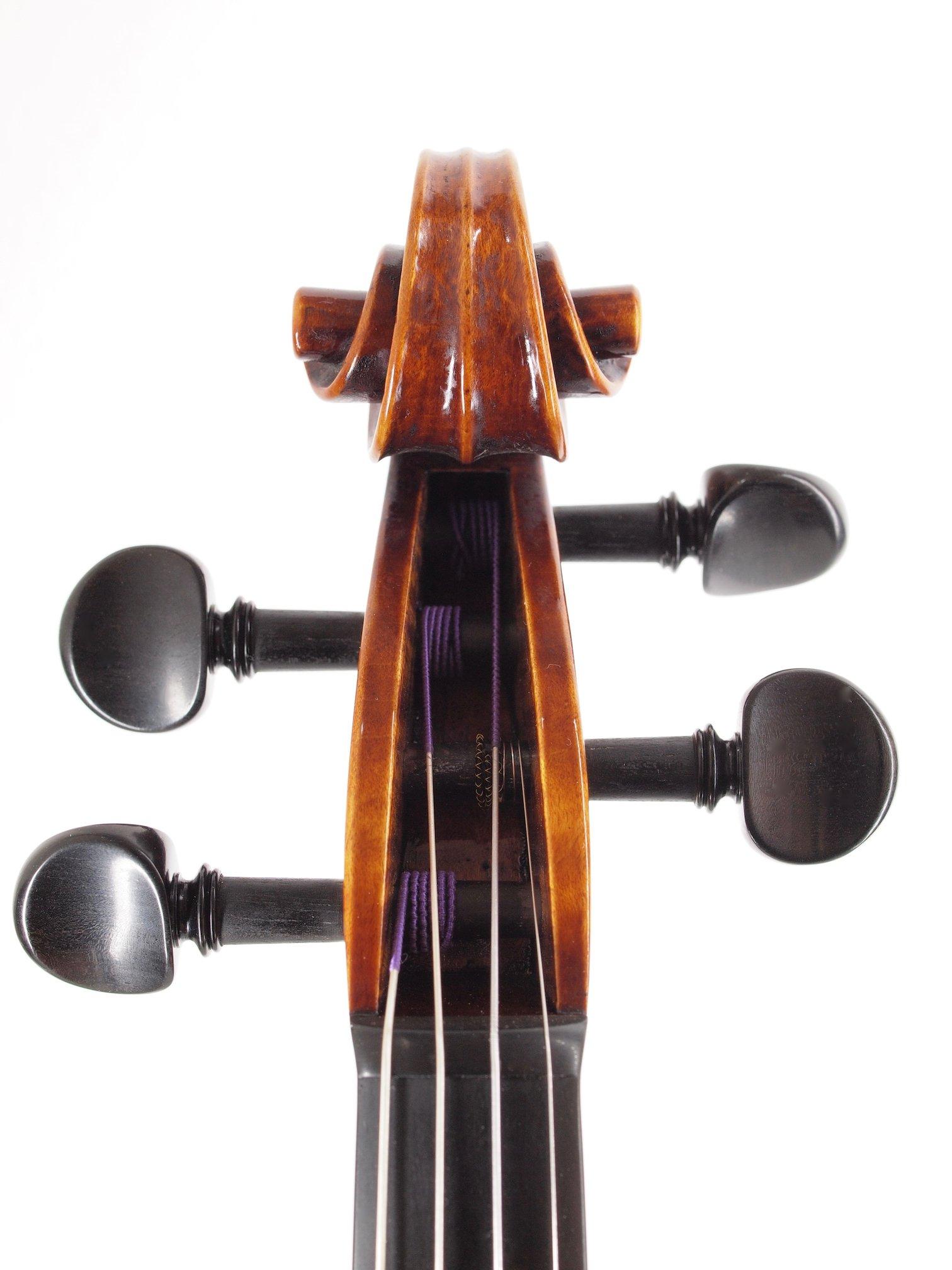 "Violin based on the model of the ""Sauret"" Guarneri del Gesu anno 1743"