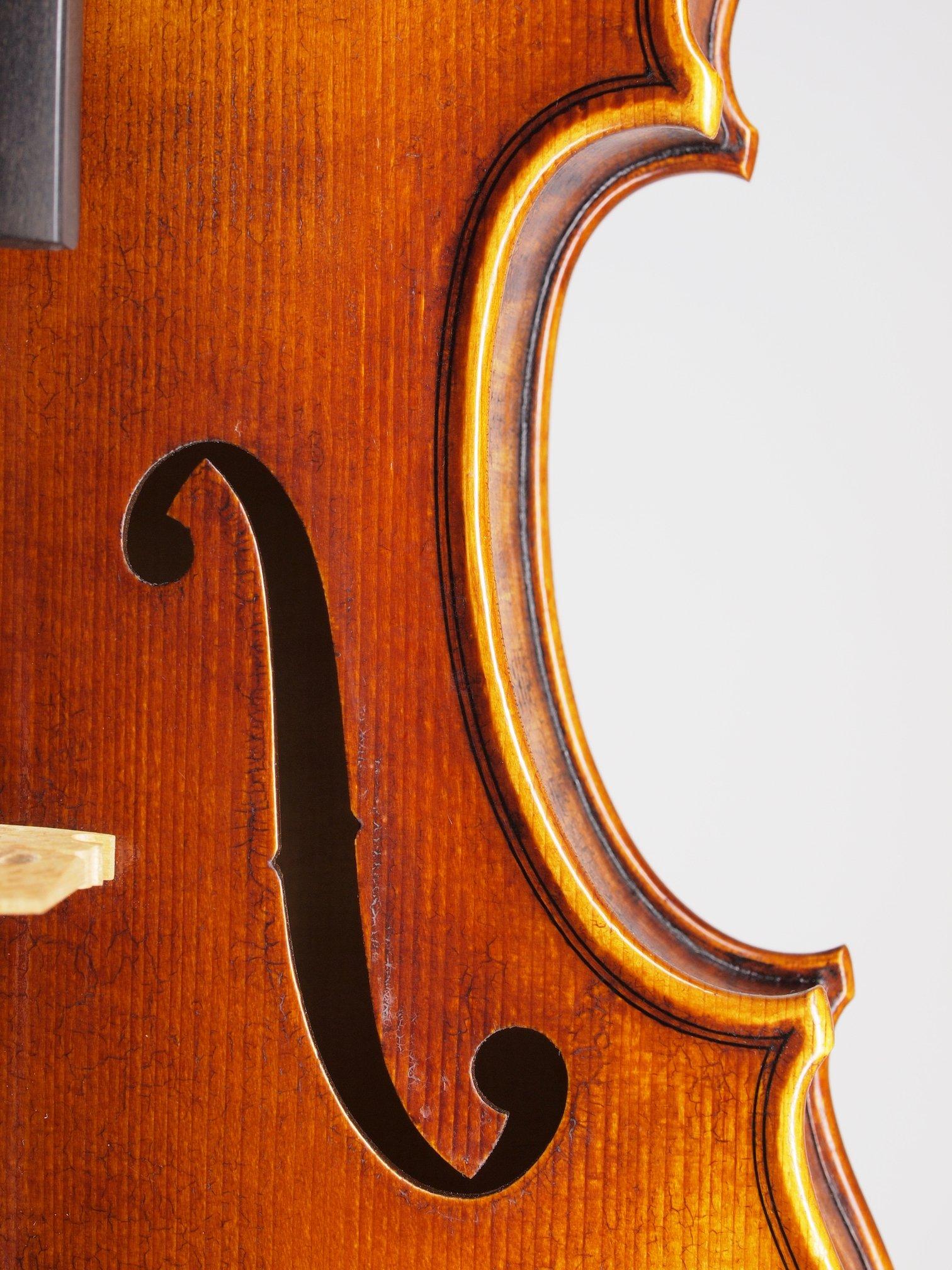 "Violin based on the model of the ""Sauret"" Guarneri del Gesu anno 1743 II"