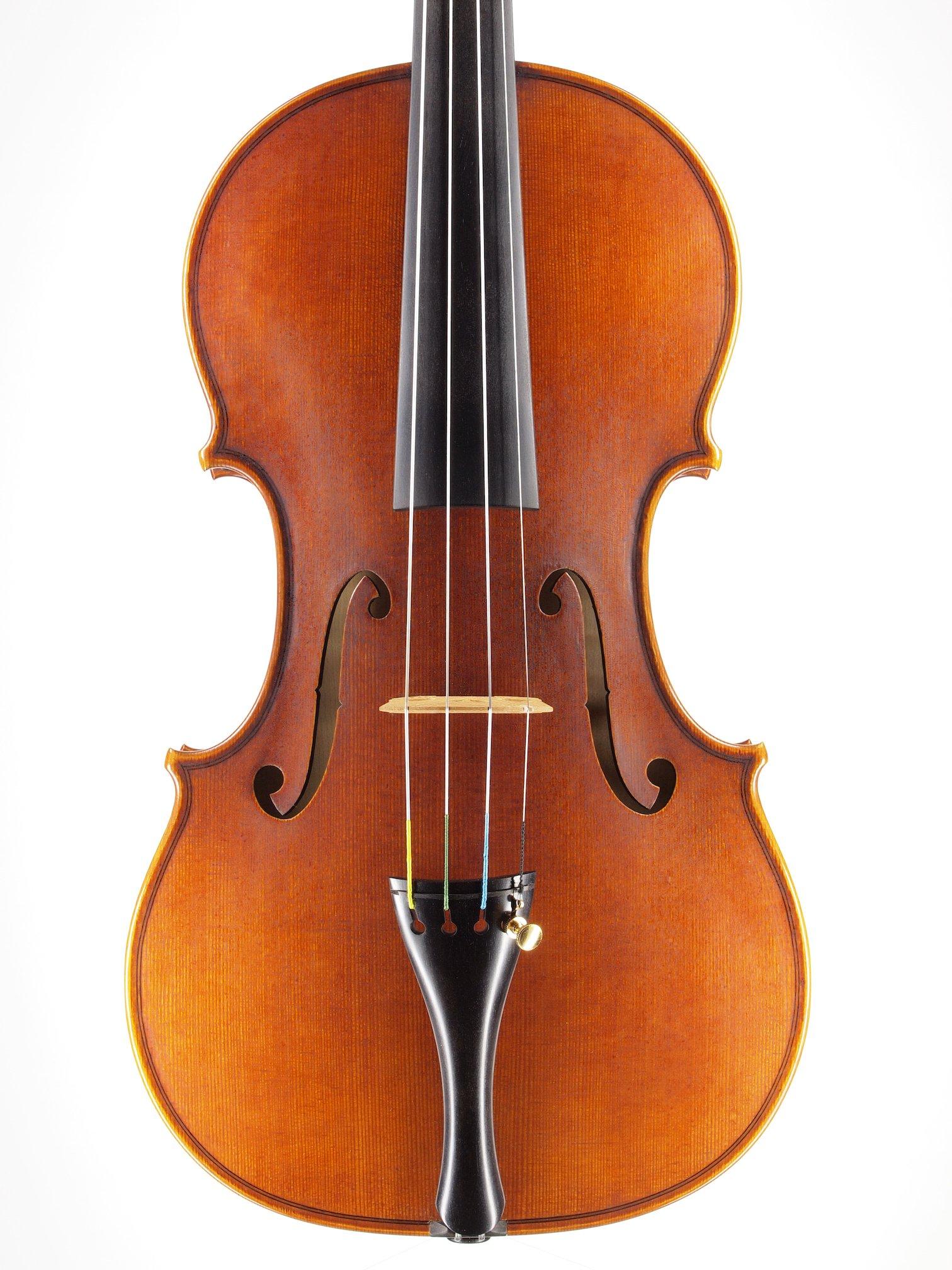 Violin based on the model of the 'Sauret' Guarneri del Gesu anno 1743 III