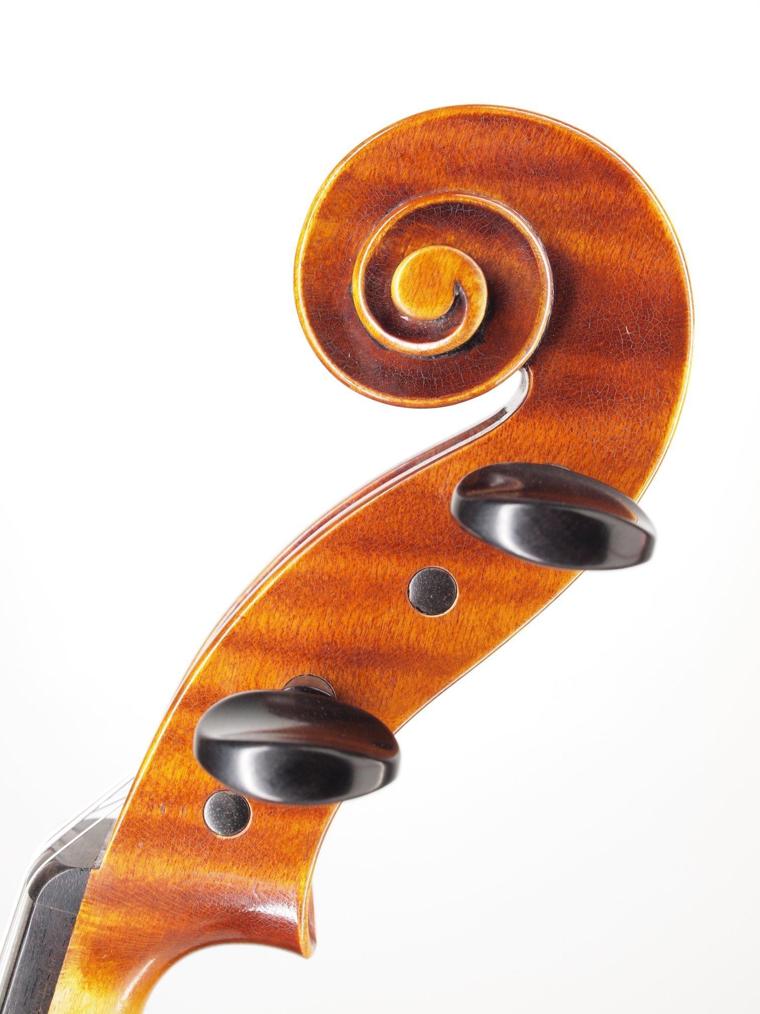 "Violin based on the model of the ""Sauret"" Guarneri del Gesu anno 1743 III"