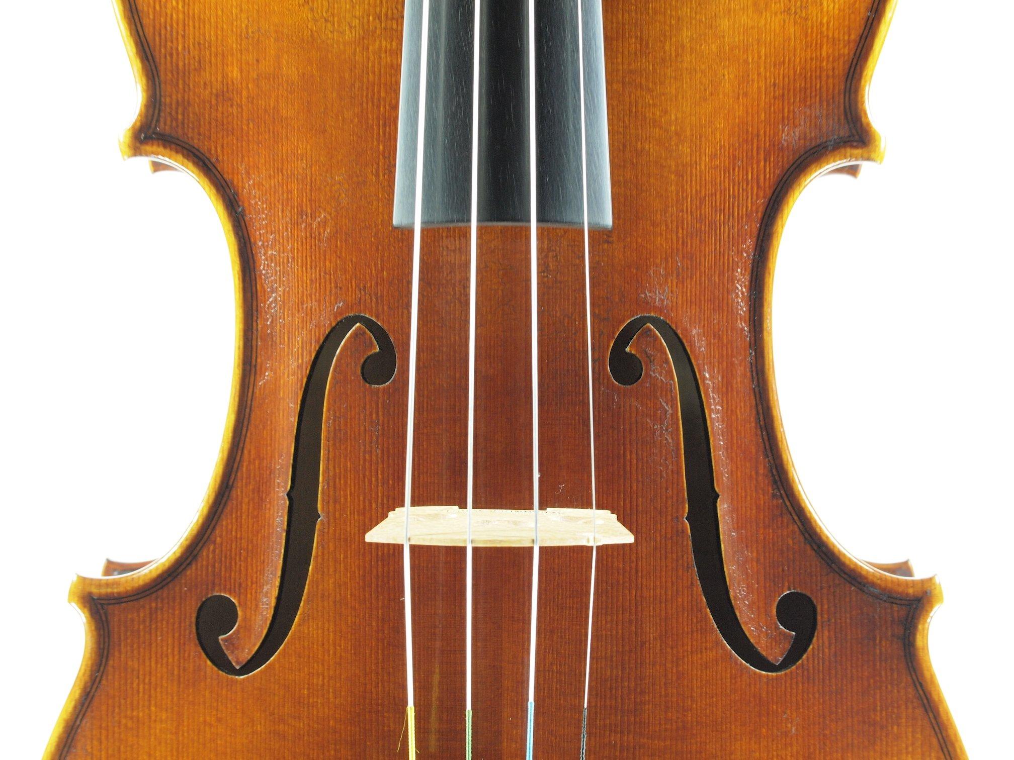 """Violin based on the model of the """"Sauret"""" Guarneri del Gesu anno 1743 IV"""