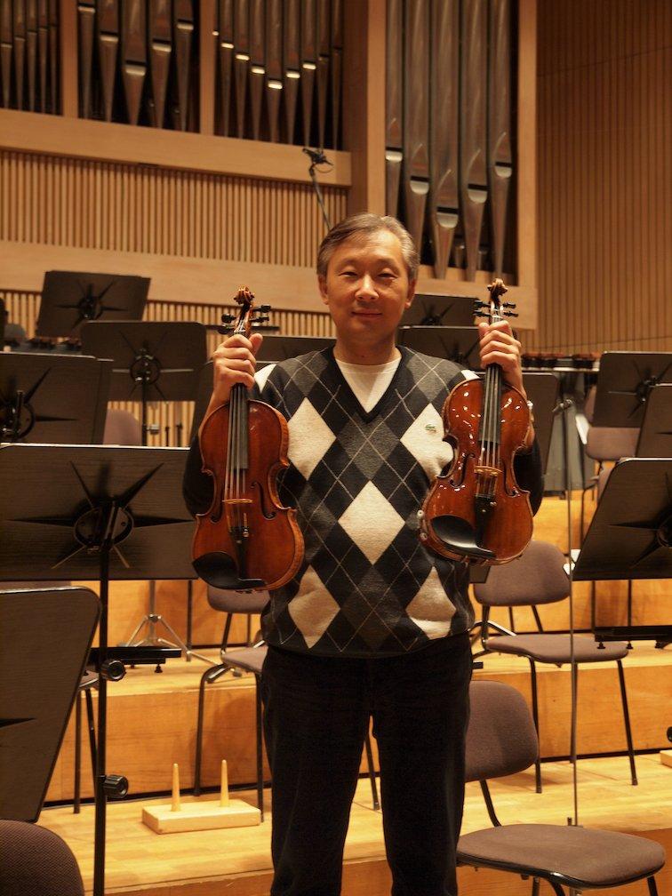 Eine Geige für Konzertmeister Lui Chan