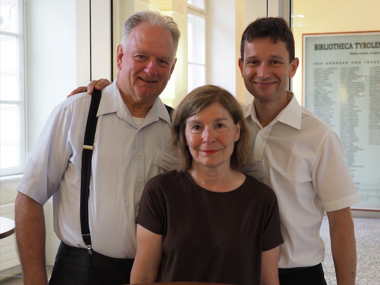 Mit Michael und Jean Becker aus Chicago