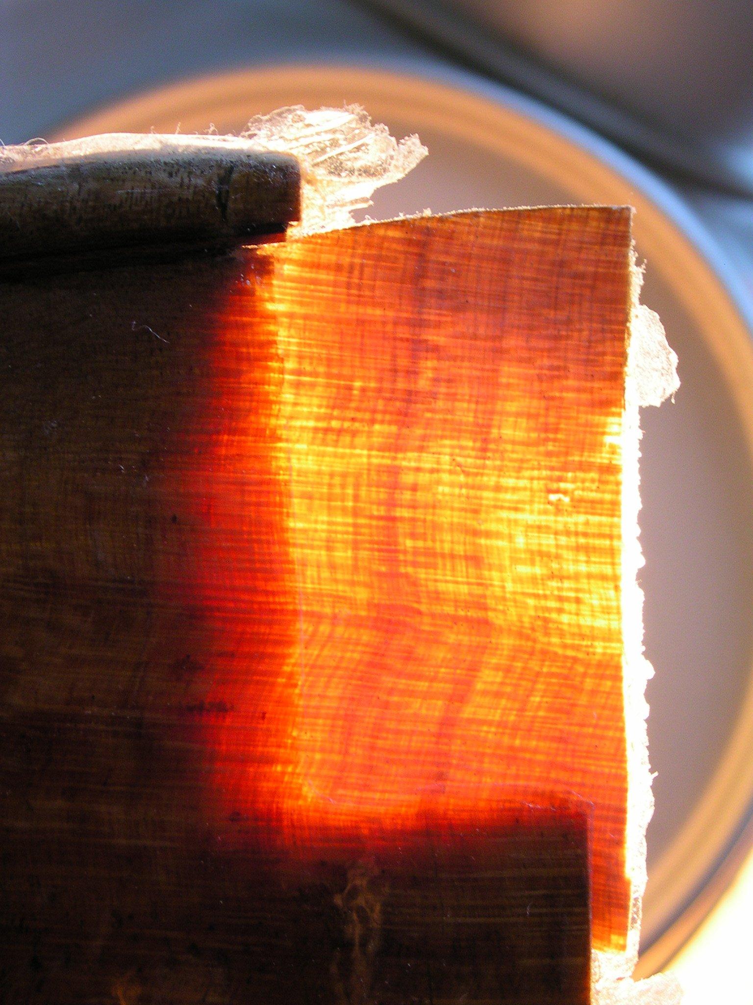 Holzmaserung passt perfekt