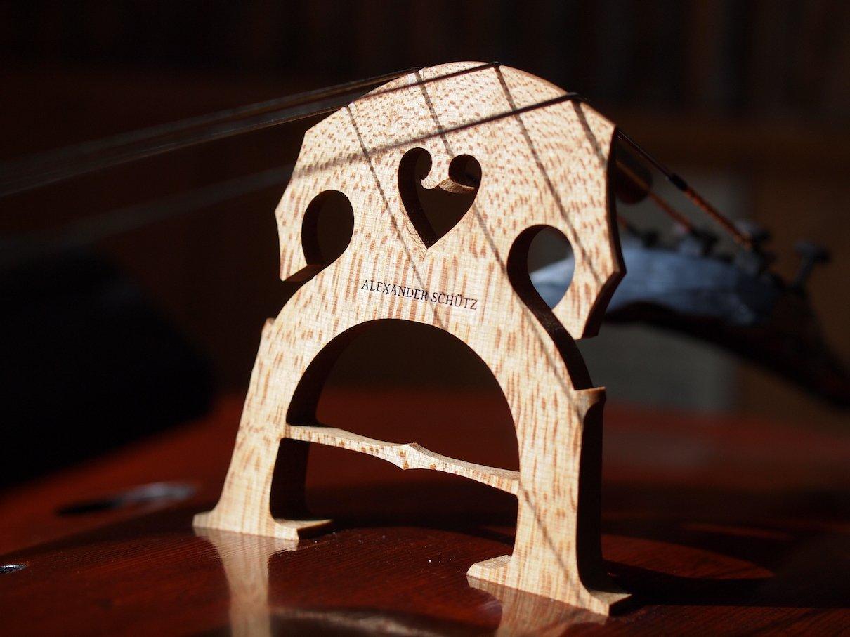 Spezial-Cellosteg mit Brücke