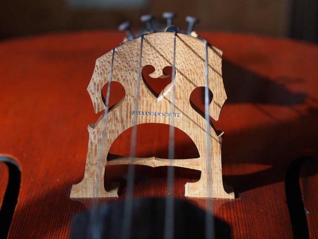 Spezial Cellosteg mit Brücke