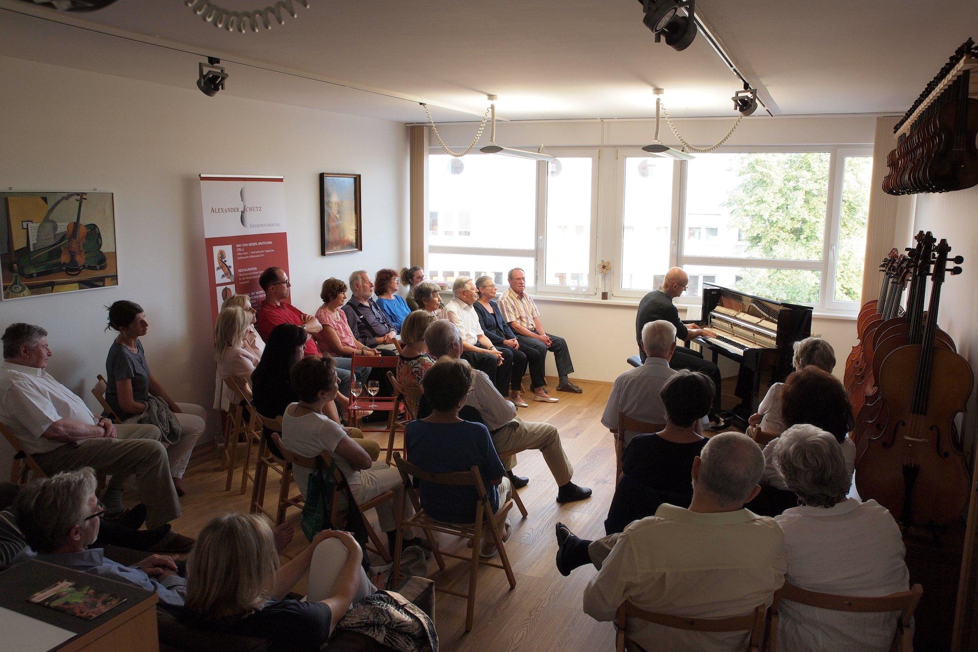 Konzert mit Günther Straub