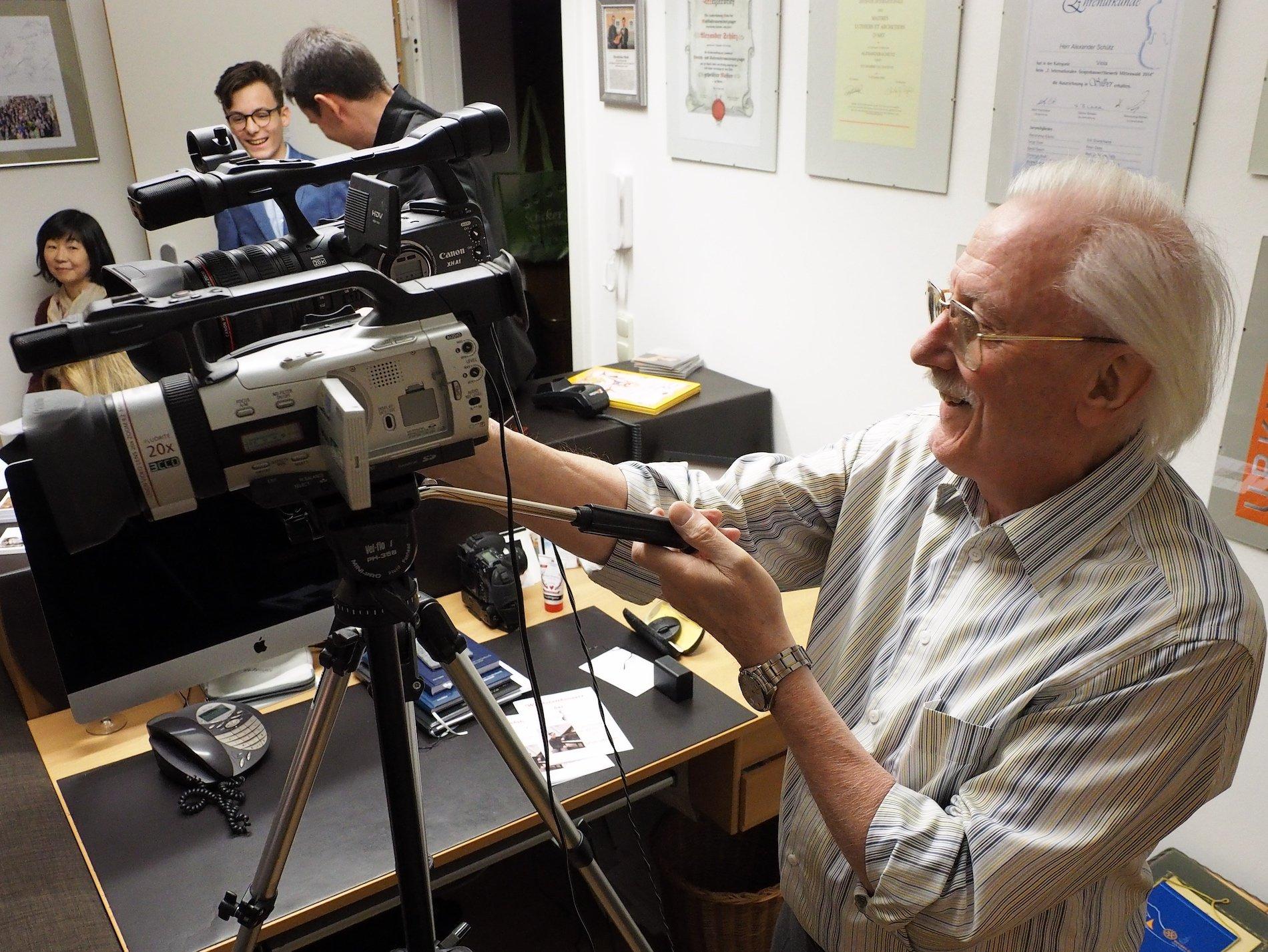 Manager und Kameramann Horst Urban