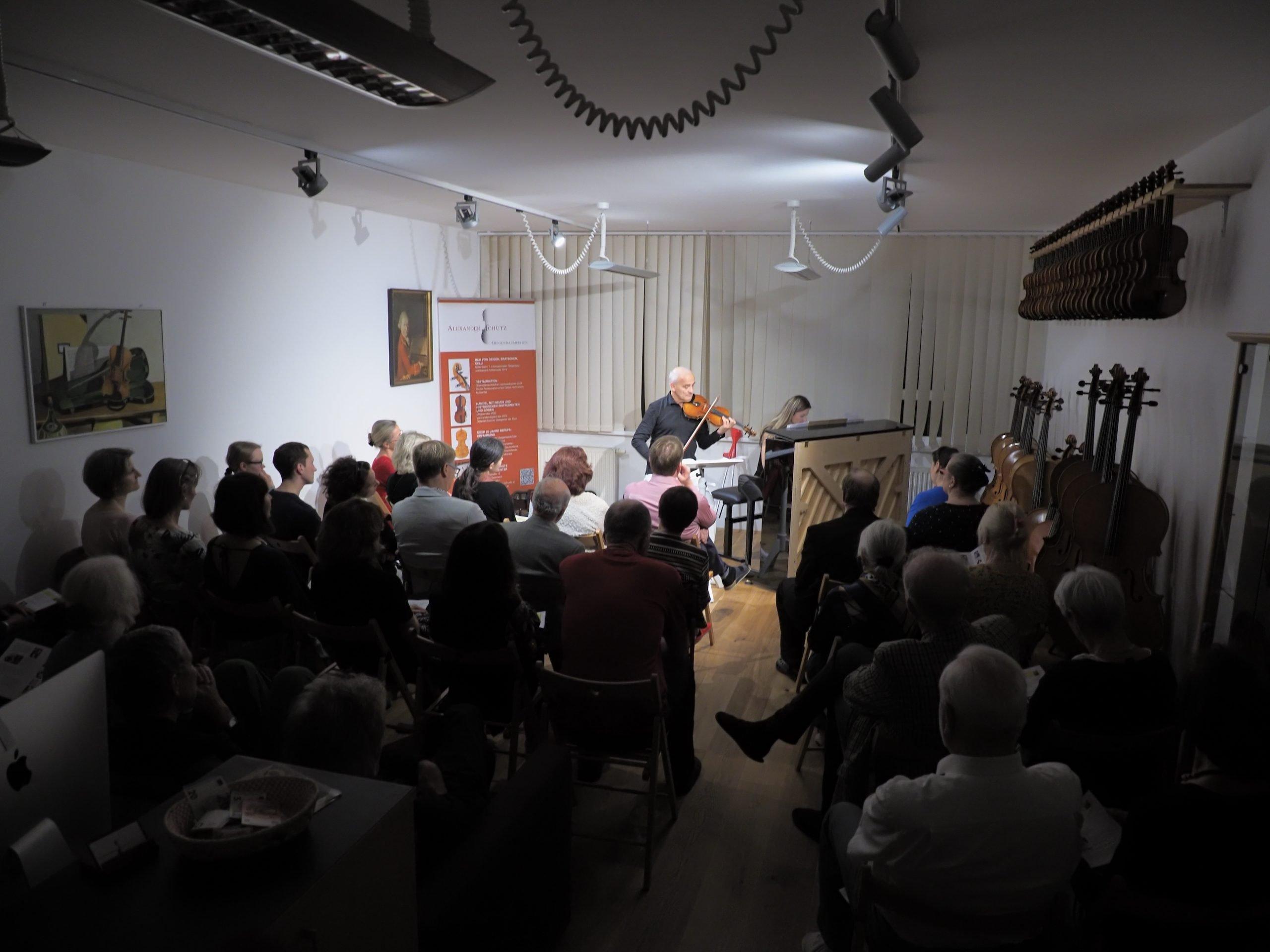 Werkstattkonzert mit Johannes Sonnberger und Maria Raberger