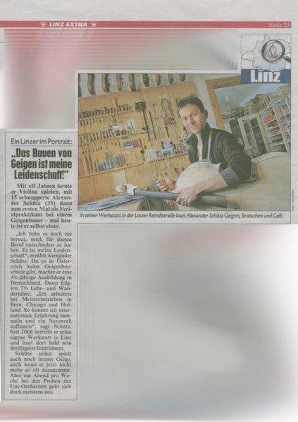 Kronen Zeitung, 08.01.2011