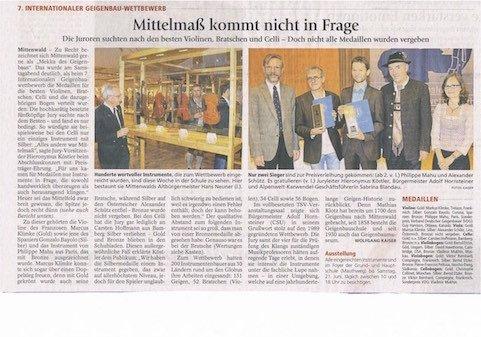 Garmisch-Partenkirchener Tagblatt, 14.06.2014