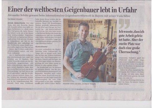 Oberösterreichische Nachrichten, 30.06.2014
