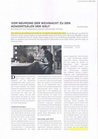 OÖ Kulturbericht, September 2014