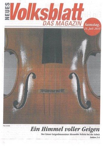 Neues Volksblatt, 25.07.2015
