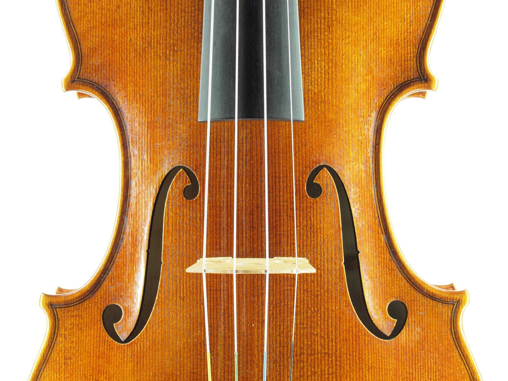 """Violin based on the model of the """"Sauret"""" Guarneri del Gesu anno 1743 V"""