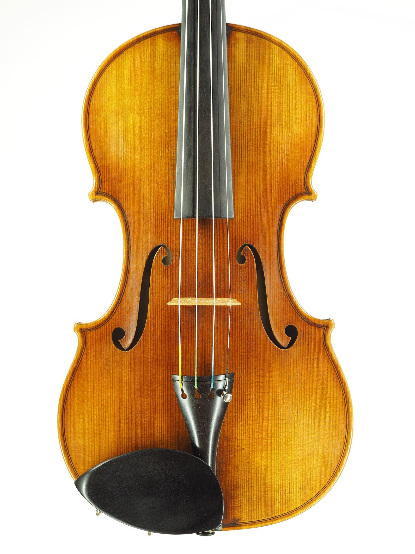 Violin based on the model of the 'Sauret' Guarneri del Gesu anno 1743 VI