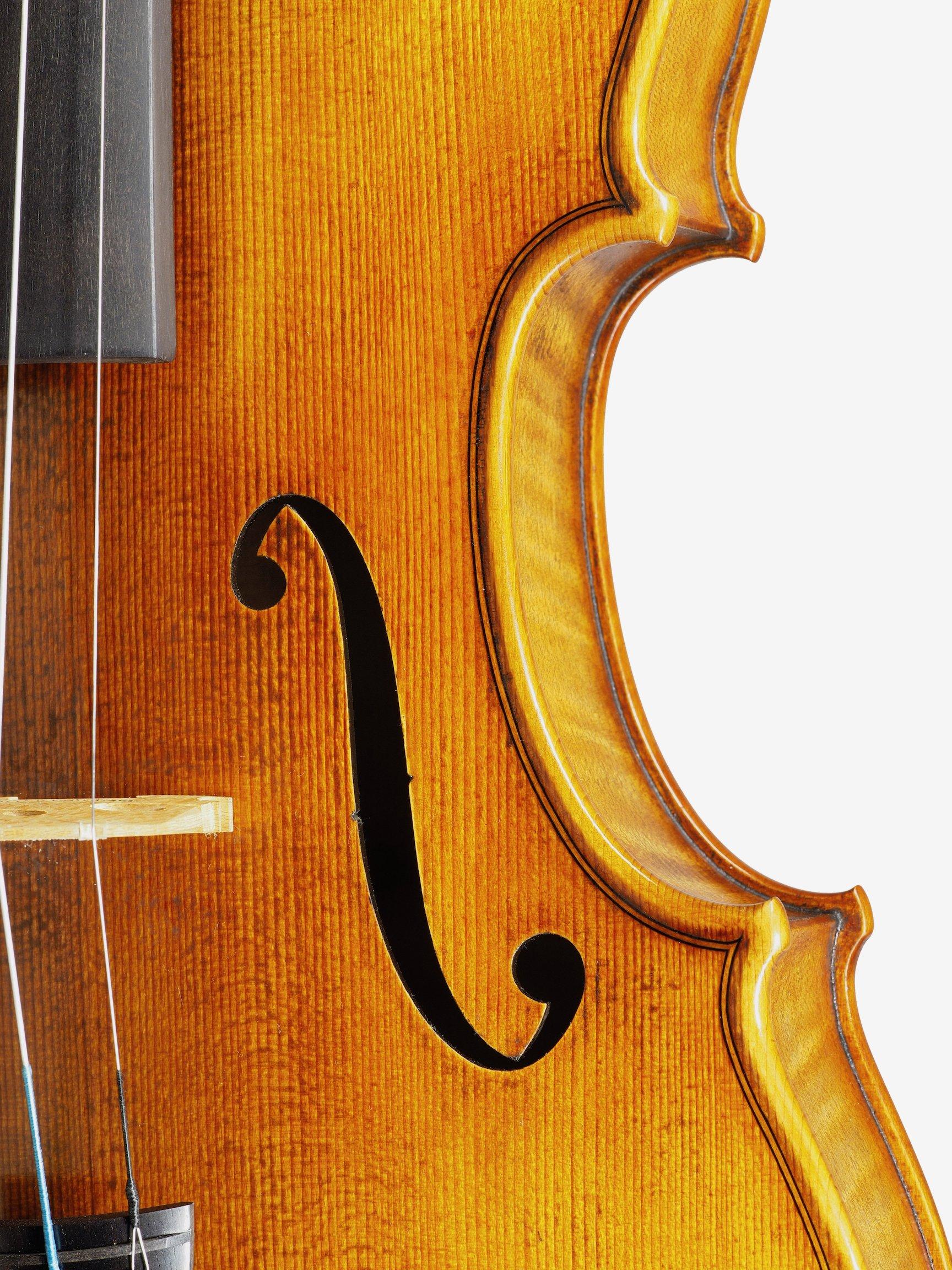 "Violin based on the model of the ""Sauret"" Guarneri del Gesu anno 1743 VI"