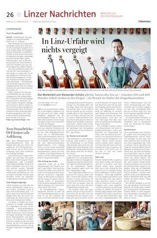 Oberösterreichische Nachrichten, 12.2.2021