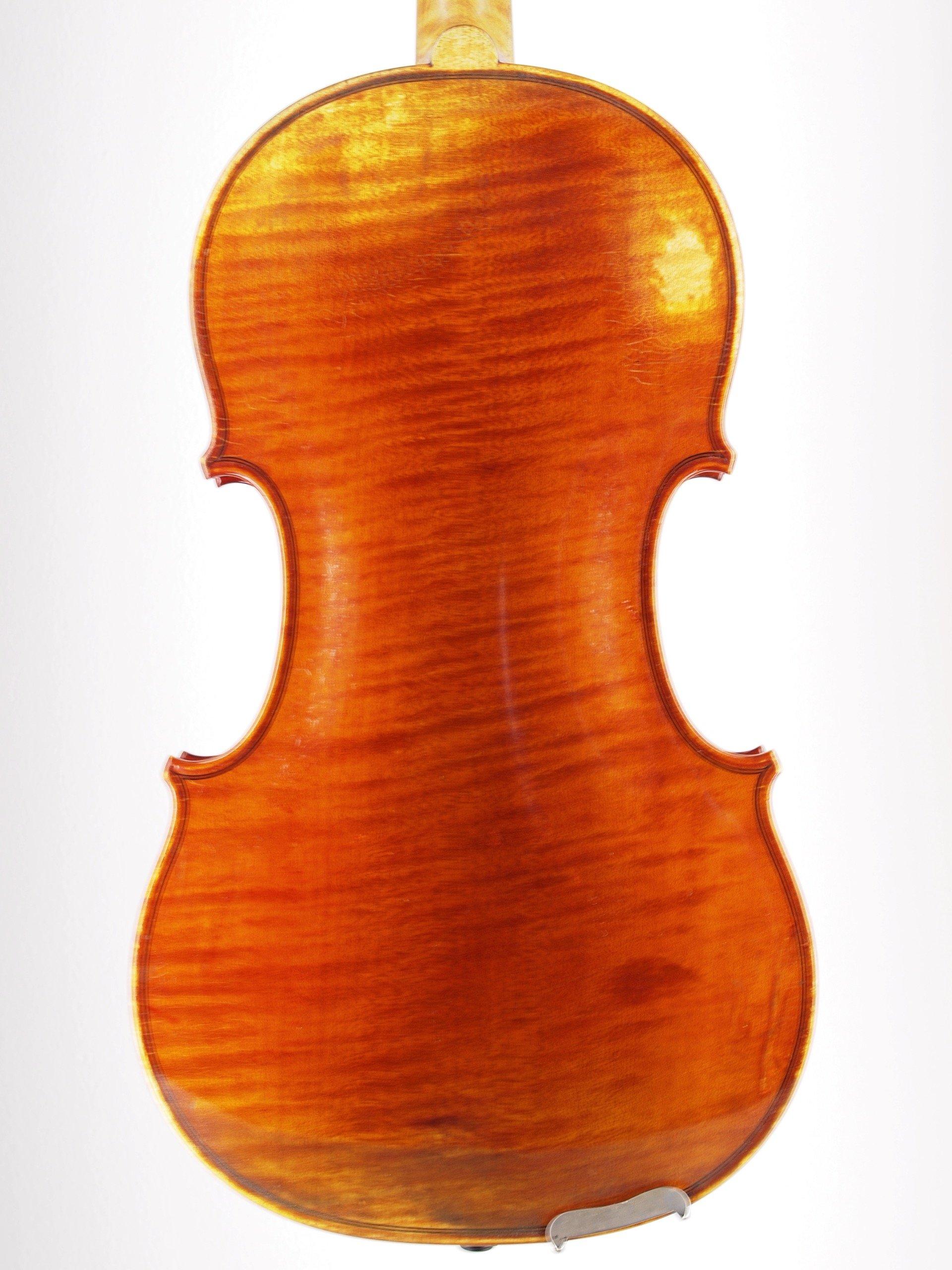 """Violin """"From the Josef Kantuscher workshop, Mittenwald 1966"""""""