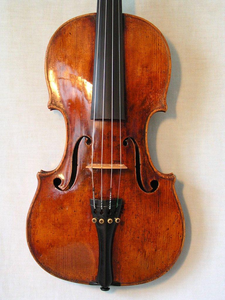 Violin by Joannes Georgius et Antonius filius Staufer Vienna 1843