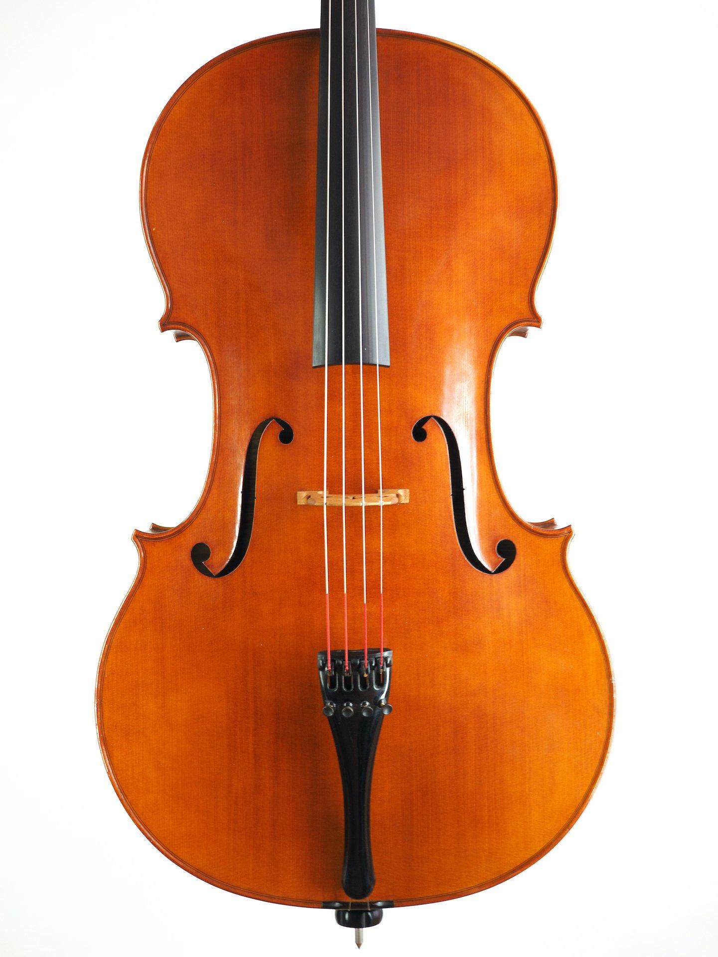 """Cello """"Josef Kantuscher, Mittenwald – Obb., A.D. 1967 Op. 196"""""""
