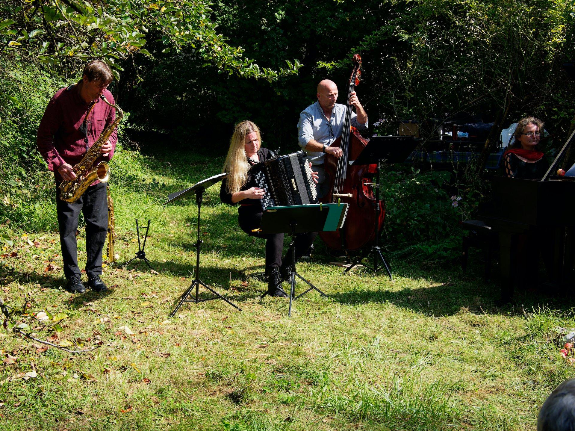 Gartenkonzert mit dem Trio Prismo